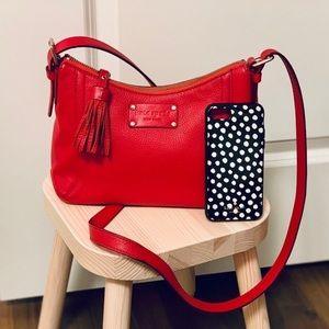 Kate Spade crossbody purse & iPhone cover